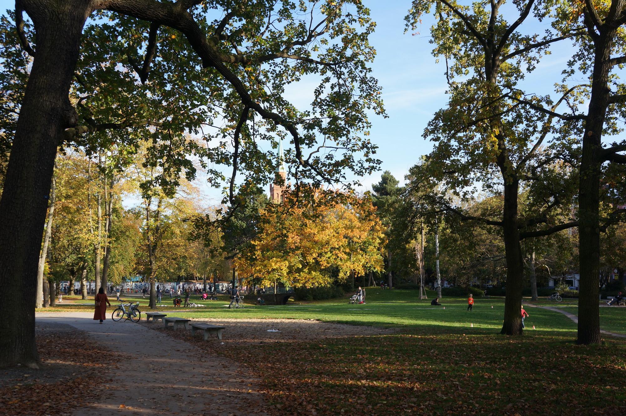 독일 공원 kleinetiergarten